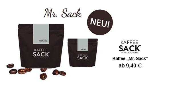 "Kaffee ""Mr. Sack"""