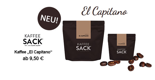 "Kaffee ""El Capitano"""