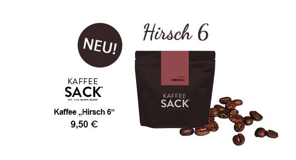 """Kaffee """"Hirsch 6"""""""