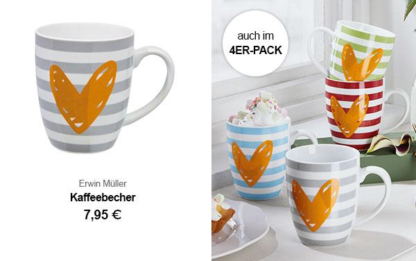 Erwin Müller Kaffeebecher