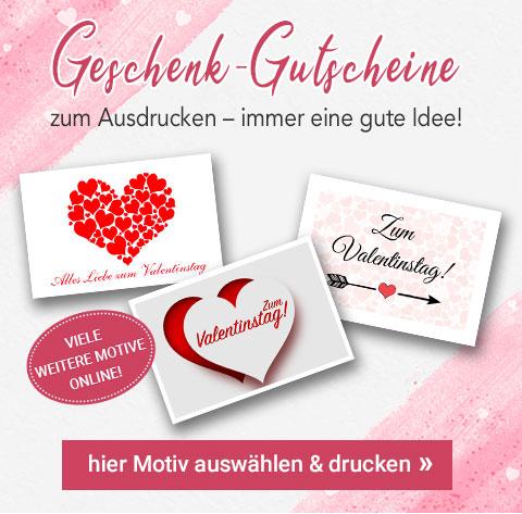 Geschenk-Gutscheine zum Ausdrucken!